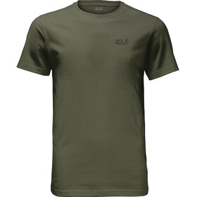 Jack Wolfskin Essential - T-shirt manches courtes Homme - olive